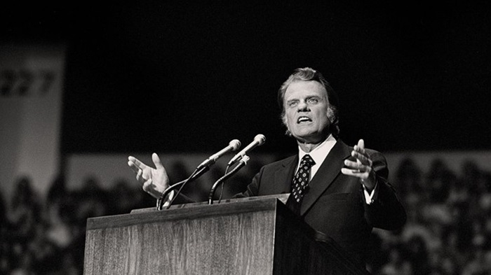 [Picture of Rev Billy Graham