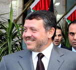 [Picture of King Abdullah II of Jordan]