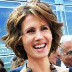 [Picture of Asma al-Assad]