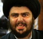 [Picture of Moqtada al-Sadr]