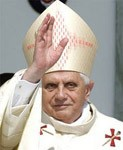 [Picture of Pope Benedict XVI]