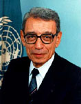 [Picture of Boutros Boutros-Ghali]