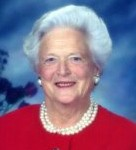 [Picture of Barbara Bush]