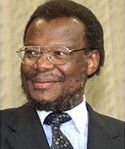 [Picture of Chief Mangosuthu Buthelezi]