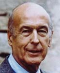 [Picture of Valéry Giscard D'Estaing]