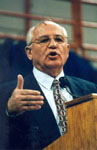 [Picture of Mikhail Gorbachev]