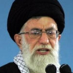 [Picture of Ayatollah Ali Khamenei]