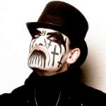 [Picture of (singer) King Diamond]