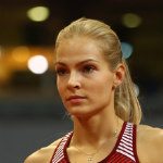 [Picture of Darya Klishina]