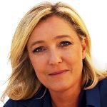 [Picture of Marine Le Pen]