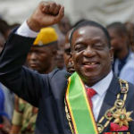 [Picture of Emmerson Mnangagwa]