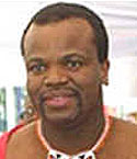[Picture of King Mswati III]