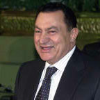 [Picture of Hosni Mubarak]