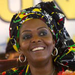 [Picture of Grace Mugabe]