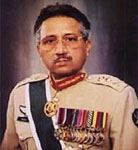 [Picture of Pervez Musharraf]