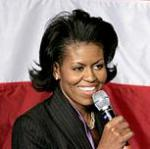 [Picture of Michelle Obama]