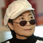 [Picture of Yoko Ono]