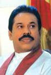 [Picture of Mahinda Rajapaksa]