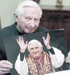 [Picture of Georg Ratzinger]