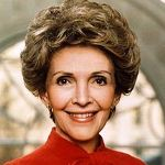 [Picture of Nancy Reagan]