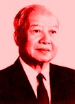 [Picture of King Sihanouk]