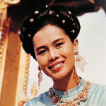 [Picture of Queen Mother of Thailand Sikrit]