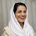 [Picture of Nasrin Sotoudeh]