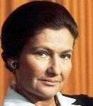 [Picture of Simone Veil]