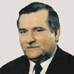 [Picture of Lech Walesa]