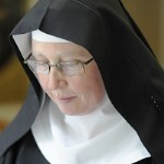 [Picture of Sister Catherine Wybourne]