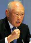 [Picture of Lee Kuan Yew]