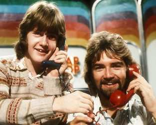 [Picture of Keith Chegwin and Noel Edmonds]