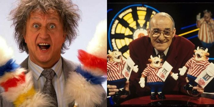 [Picture of Ken Dodd and Jim Bowen]