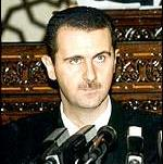 [Picture of Bashar Al-Assad]