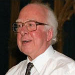 [Picture of Peter Higgs]