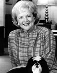 [Picture of Betty White]